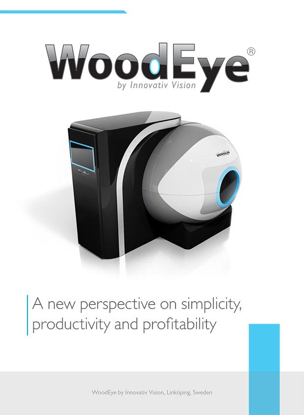 Broschyr och projektledning WoodEye by Innovativ Vision